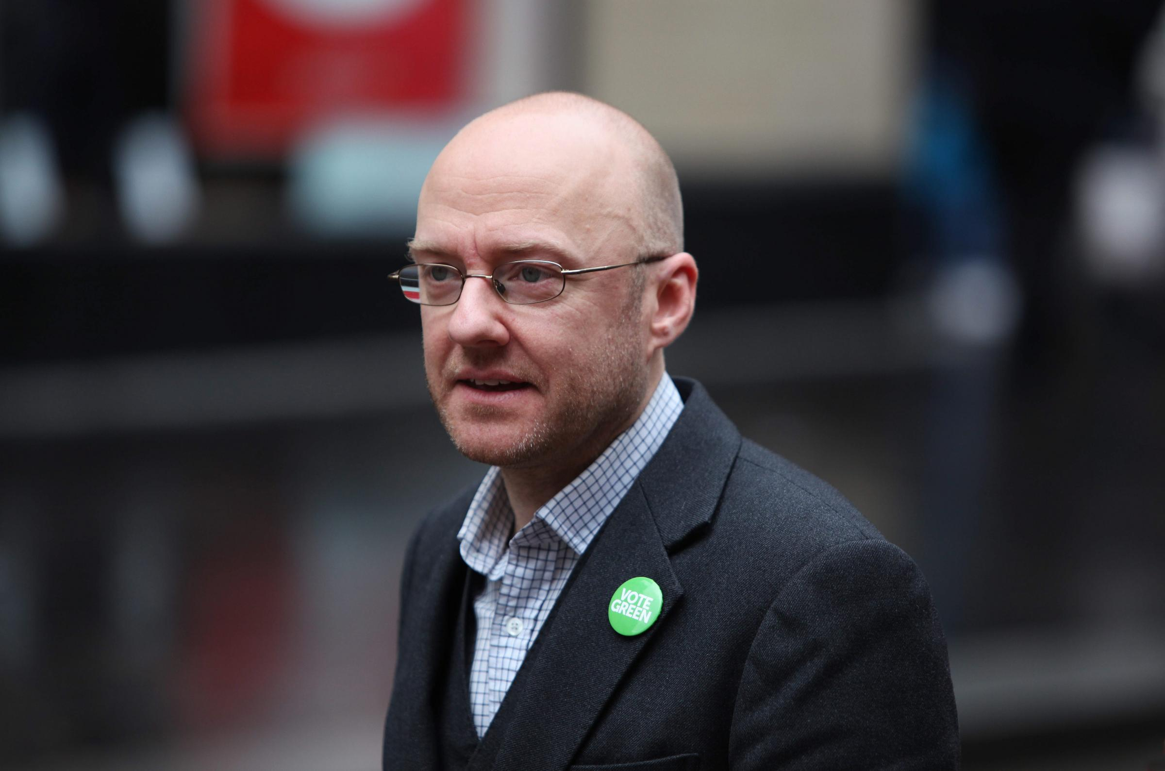 Patrick Harvie is hoping for some Green gains
