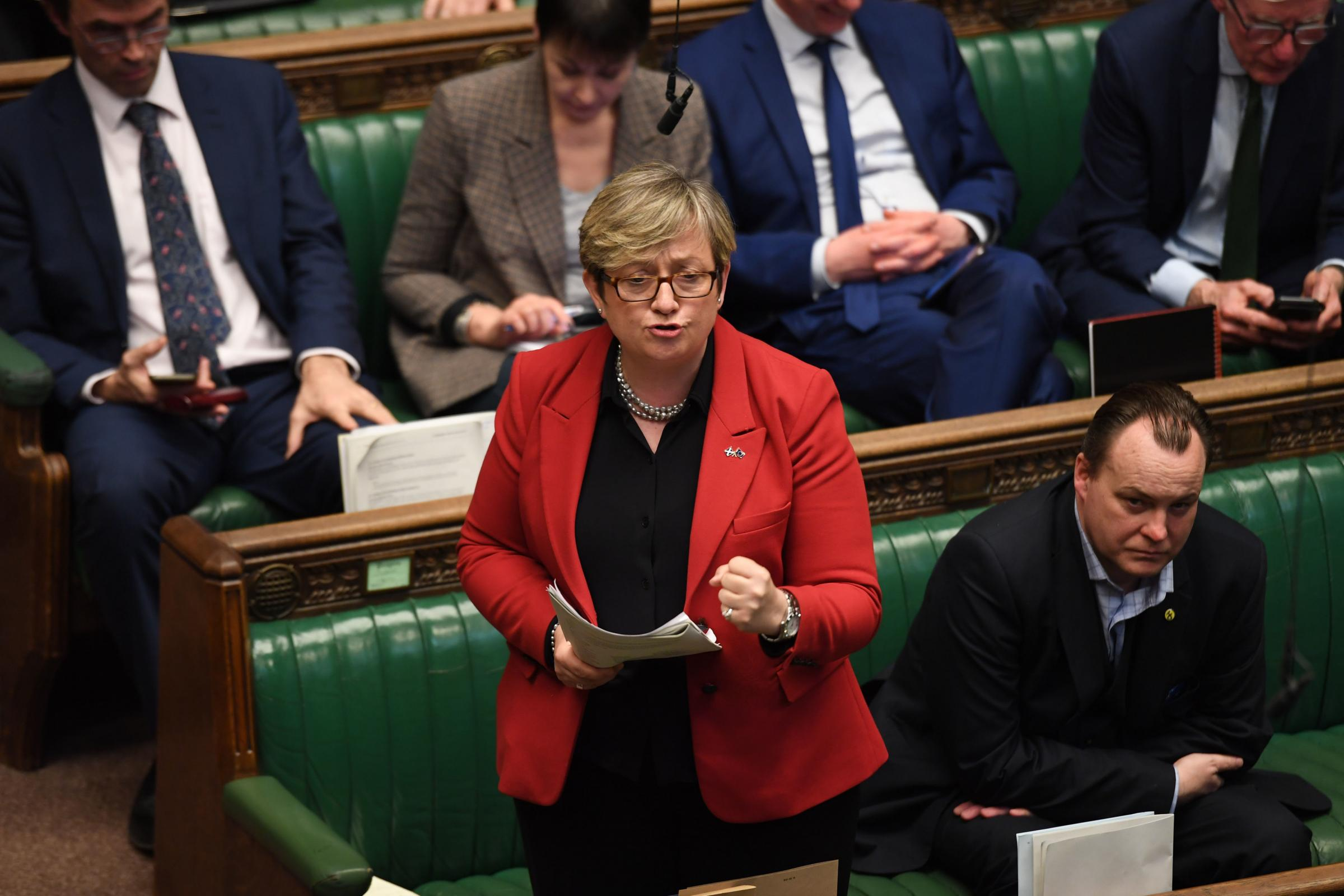 SNP MP Joanna Cherry hit out at Labour for abstaining on her motion. Photograph: UK Parliament/Jessica Taylor