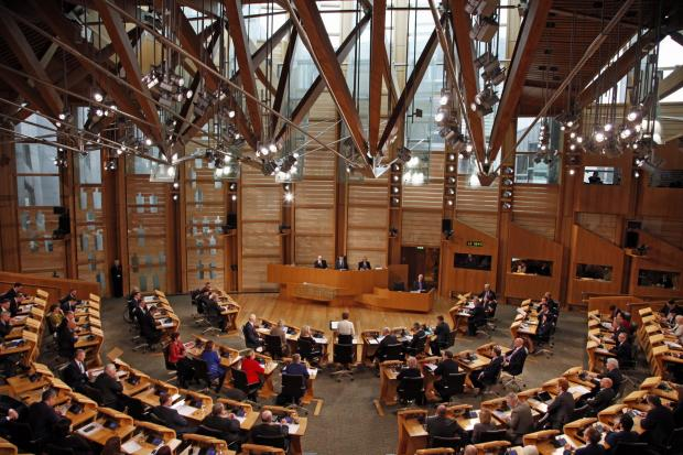 The National: The First Minister will make a speech in Holyrood