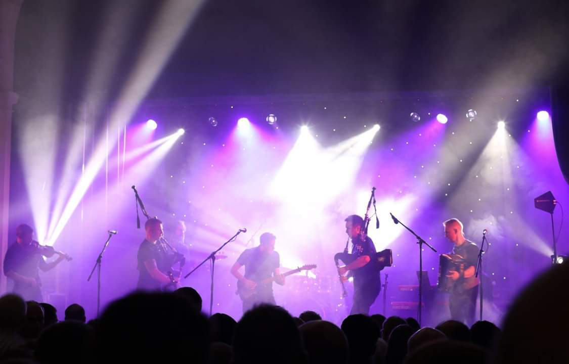 Skerryvore are regulars at the festival