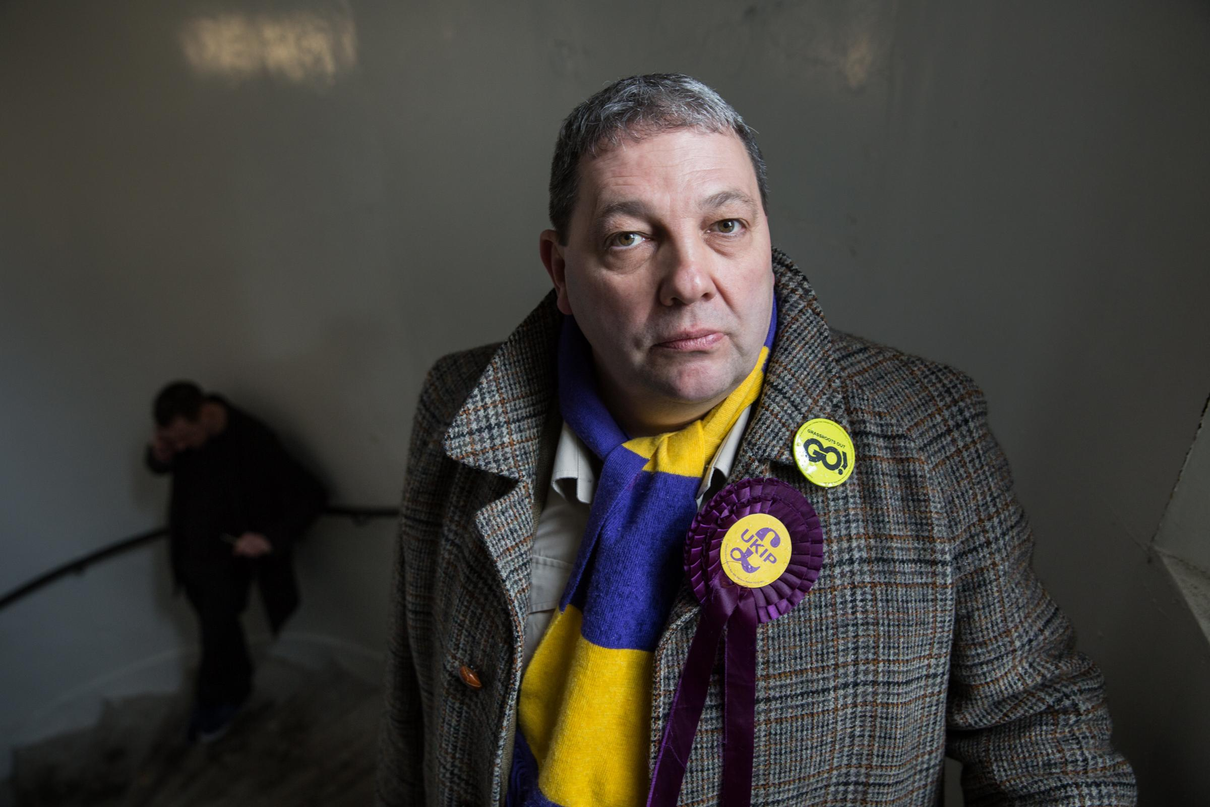 David Coburn will have to fight to keep his seat if the UK holds EU elections
