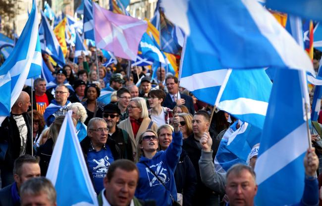 The last Glasgow march was a major success, with tens of thousands turning out to express indy support