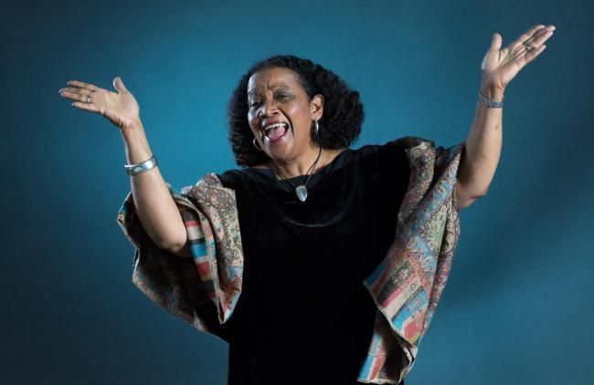 f223b4bb55d8 Louise Welsh meets Jamaica s Poet Laureate Lorna Goodison