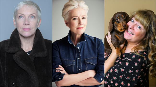 Annie Lennox, Emma Thompson and Janey Godley are up for awards