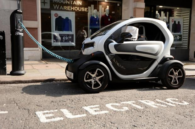 The National: An electric car charging
