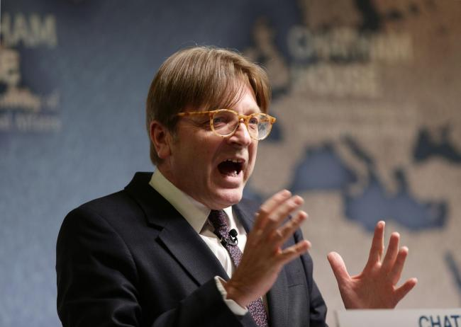 Guy Verhofstadt spoke out after an academic's application was not accepted