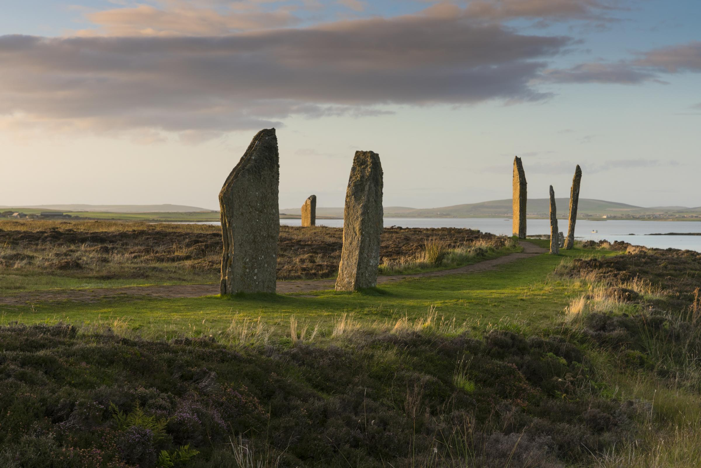 Ring of Brodgar in Orkney is vandalised with graffiti