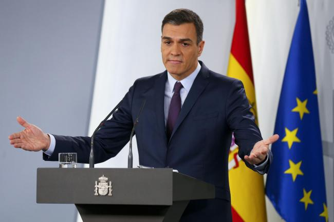 The leader of Spain's biggest party, Pedro Sanchez, has his work cut out