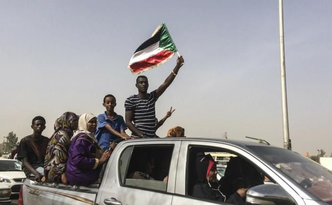 Protesters in Sudan have been demonstrating over a turbulent week