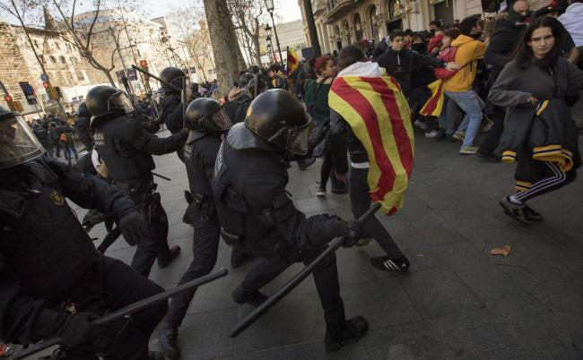 The democratic fight for Catalan independence has continually been met with hostility