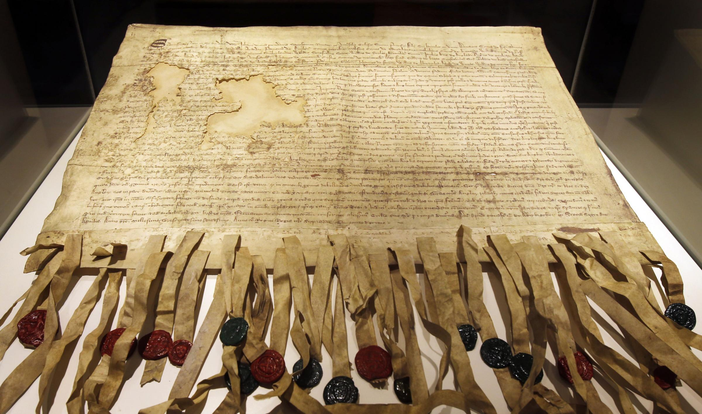 The Declaration of Arbroath is a key document in Scotland's history