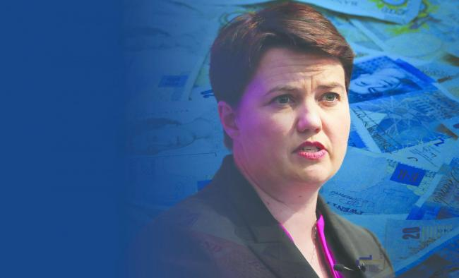 The Conservative Party leader in Scotland, Ruth Davidson