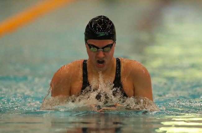 Even without funding Aimee Willmott still loves swimming