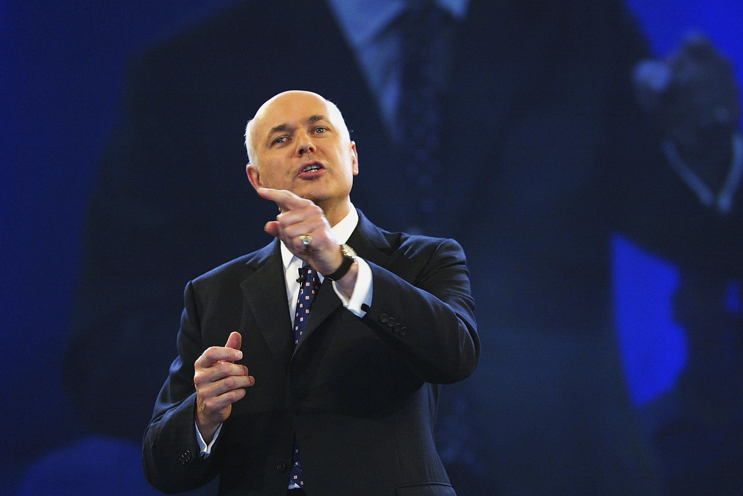 Iain Duncan Smith has blamed poor polling results for the Tories on Brexit delays