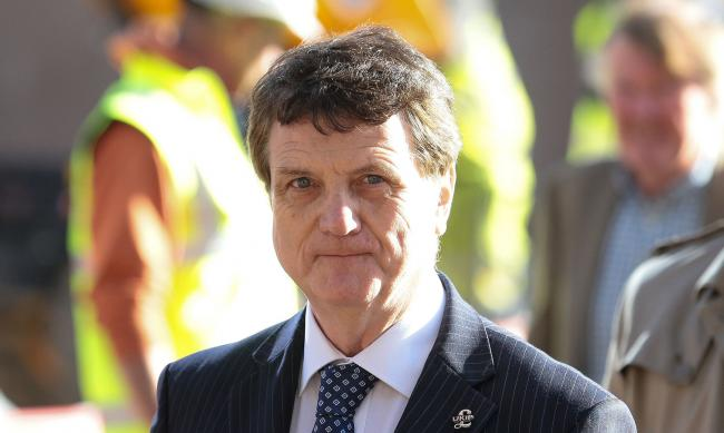 Ukip Party Leader Gerard Batten arrives at the Ukip annual conference at the International Convention Centre in Birmingham. PRESS ASSOCIATION Photo. Picture date: Friday September 21, 2018. See PA story POLITICS Ukip. Photo credit should read: Aaron Chown
