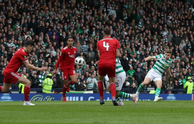 James Forrest opens the scoring for Celtic against Aberdeen in spectacular style.