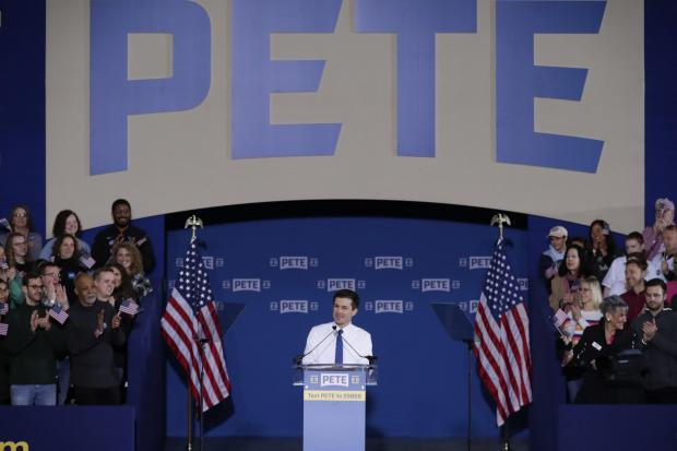 The National: Pete Buttigieg has gone from little-known Indiana mayor to a high-profile candidate in the race for the Democratic presidential nomination