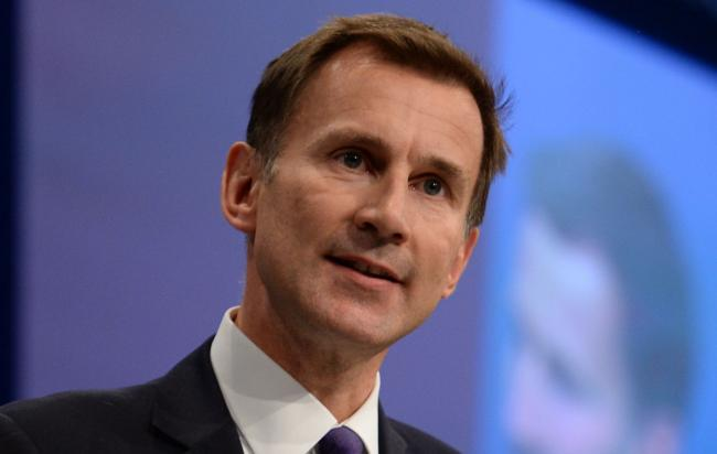 Foreign Secretary Jeremy Hunt is a favourite to replace Theresa May
