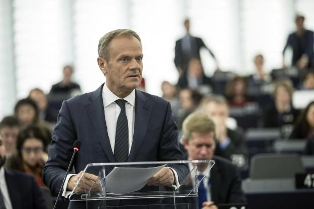 The National: Donald Tusk