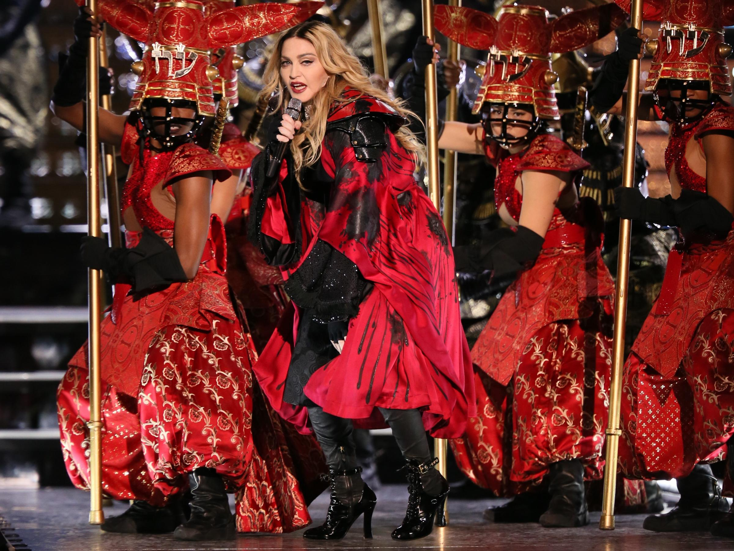 Madonna is reportedly being paid $1m to perform at the contest in Israel