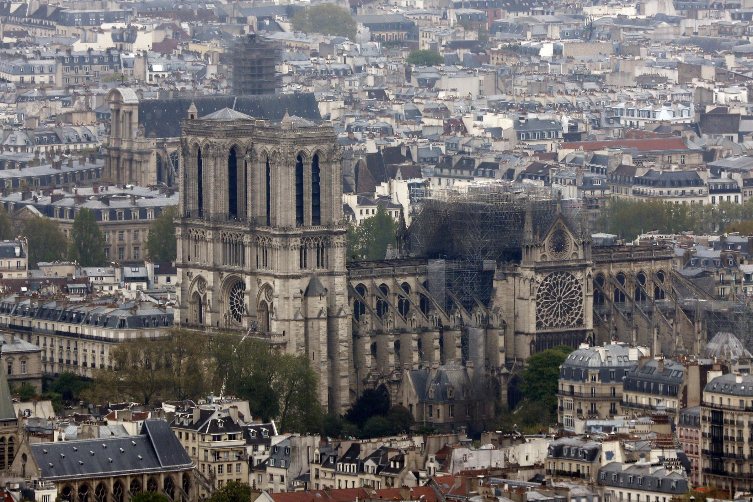 Huge sums have been pledged to repair Notre Dame