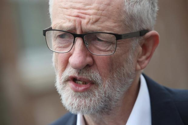 The National: Jeremy Corbyn didn't paint an optimistic picture of negotiations with the Tories
