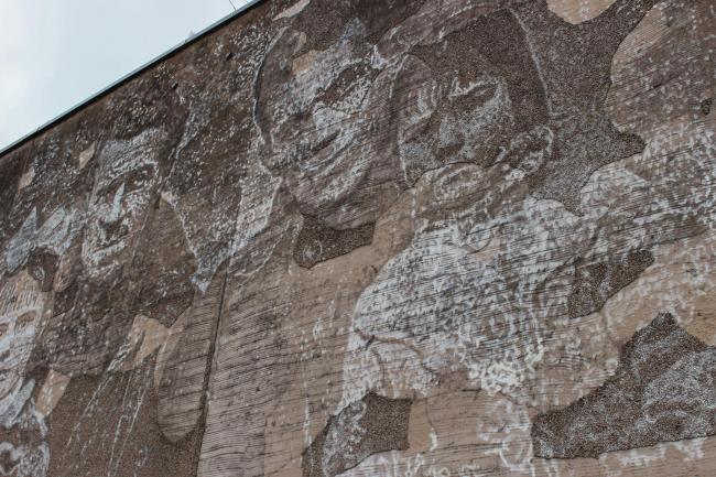 A large relief sculpture has been created to mark links between Aberdeen and the Spanish Civil War