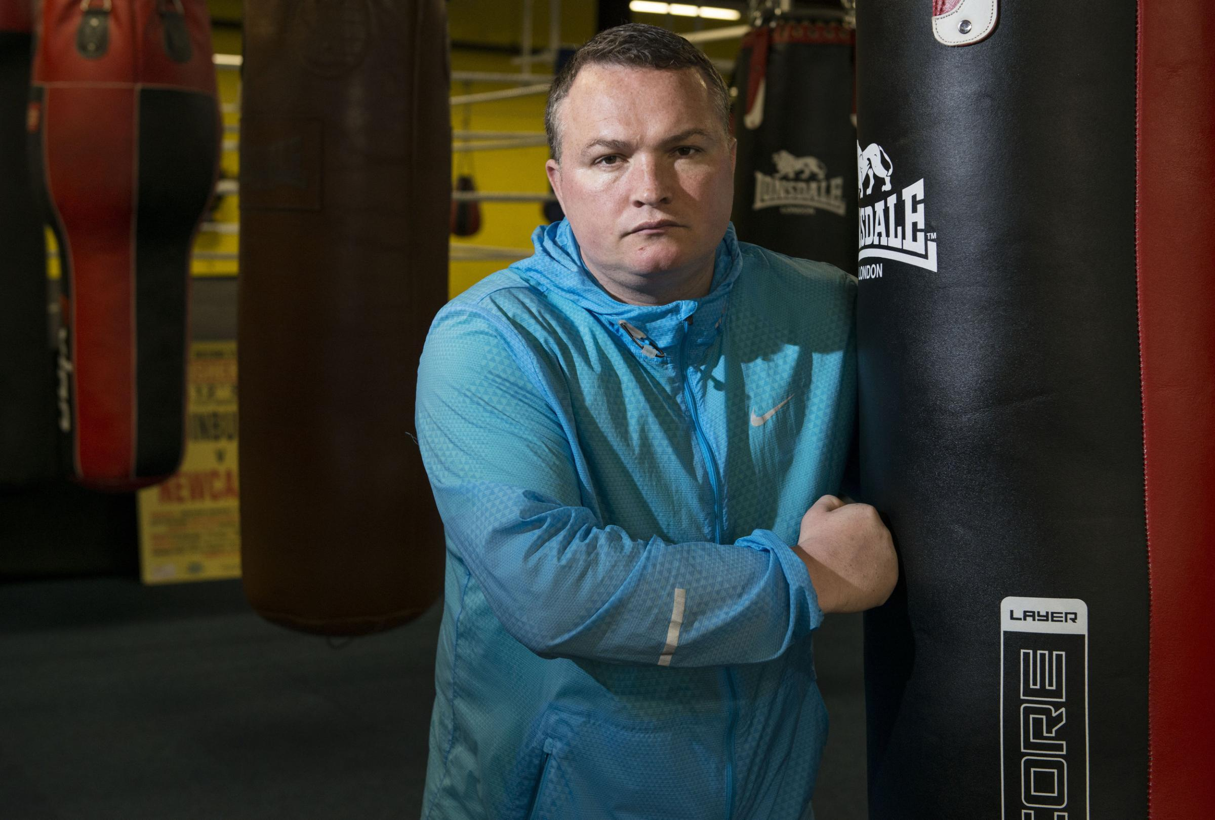 Bradley Welsh was a former boxing champion