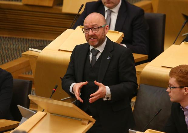 The National: Patrick Harvie's Scottish Greens have yet to win a constituency seat