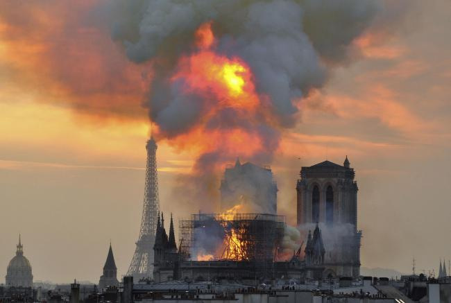 A huge amount of money was raised in the aftermath of the Notre-Dame fire ... but that was not without controversy