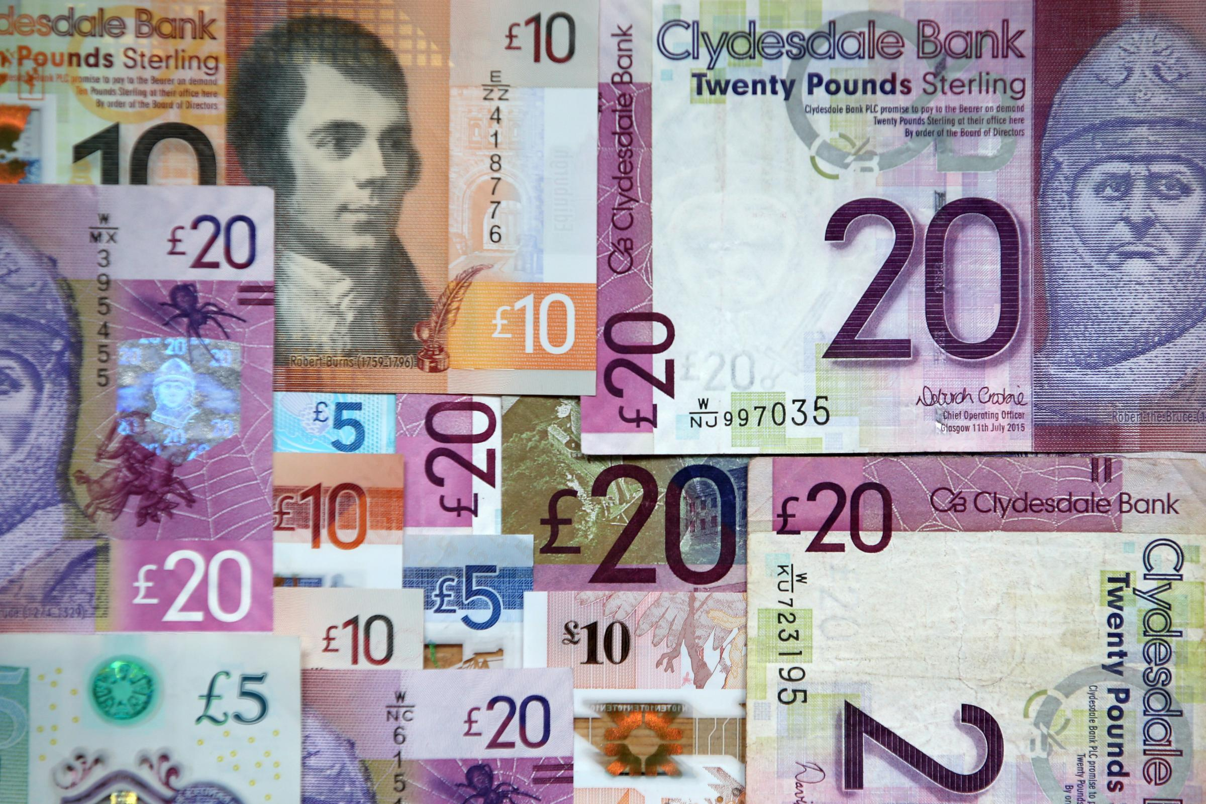 Third of people in England think Scots notes are fake, survey reveals