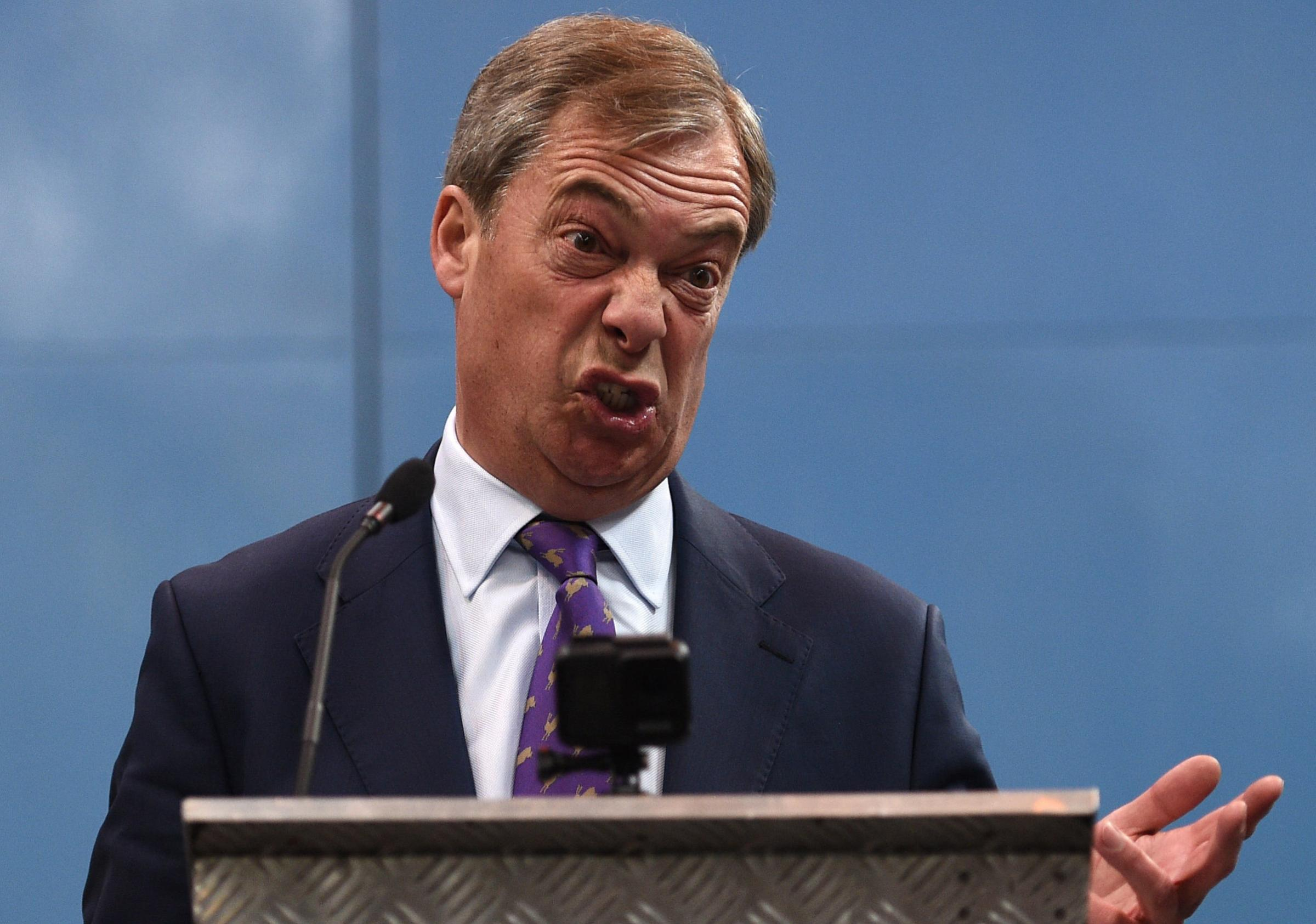 Nigel Farage has his new Brexit Party