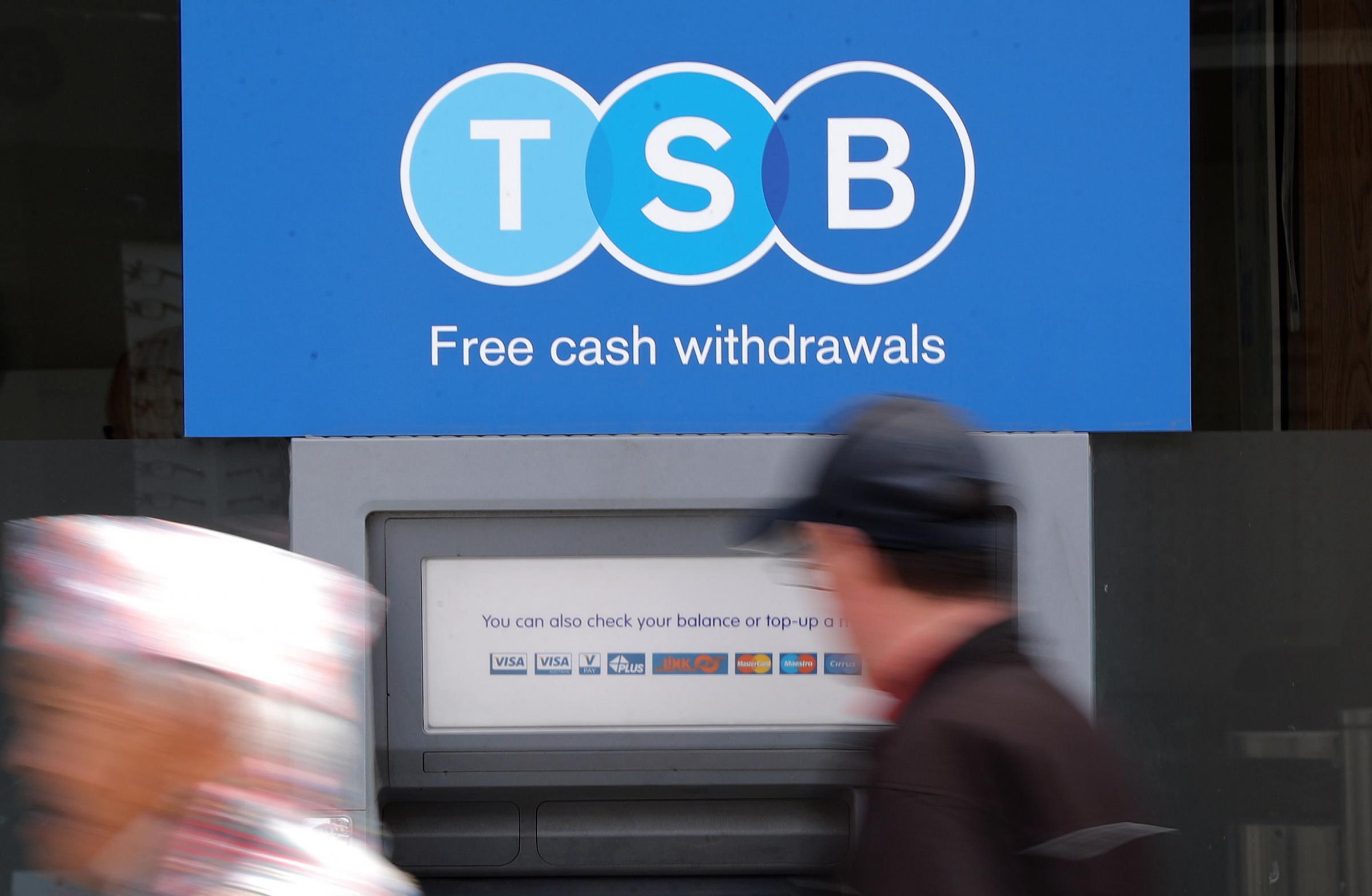 TSB will also close four Scottish branches
