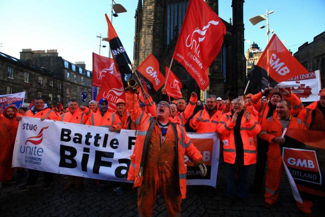 BiFab is concerned about losing contracts to foreign companies that have an 'unfair' advantage