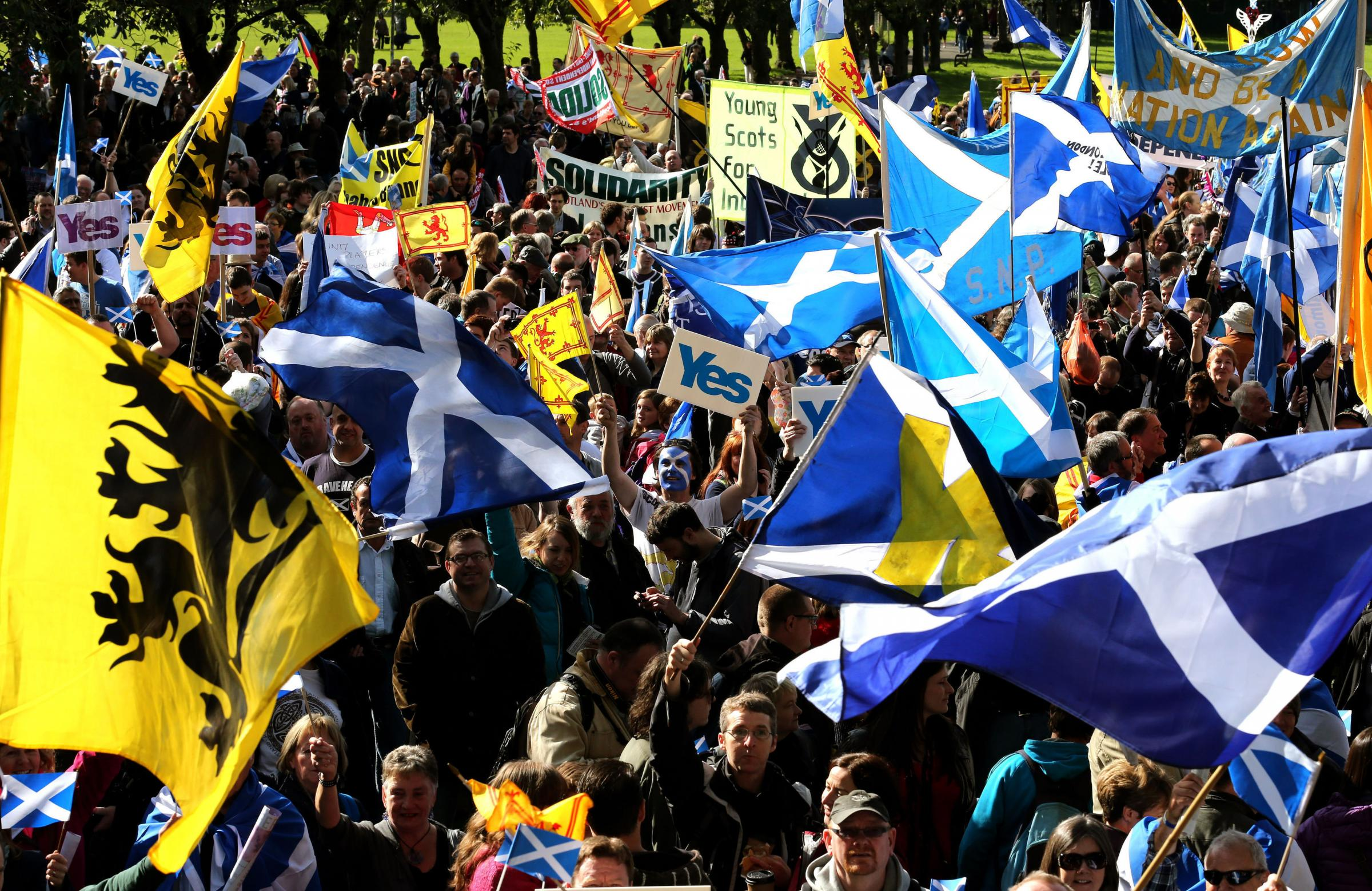 The Yes movement will be keen to hear the plans