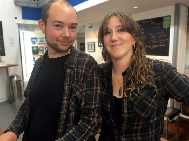 Building Together co-founders Robert Thompson and Kirsty Cassels