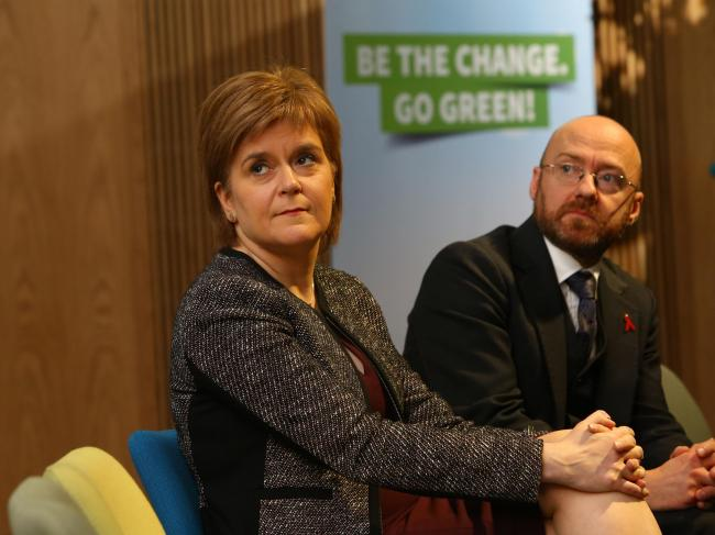 The parties of Nicola Sturgeon and Patrick Harvie have not engaged with the wider Yes movement