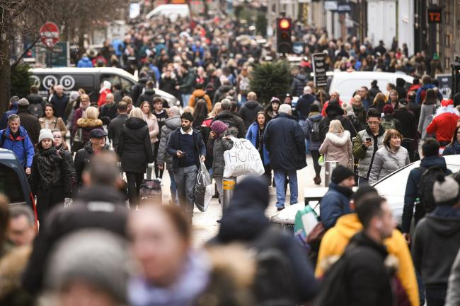 Population growth in Scotland has dropped from 0.5% in 2015/16 to just 0.18% in 2018/19