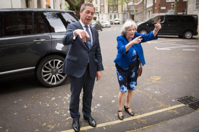 The Brexit Party's politicians, such as Nigel Farage and Ann Widdecombe, talk much of the UK being mocked