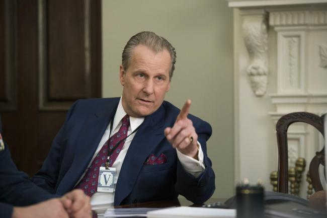 Jeff Daniels as FBI counter-terrorism chief John O'Neill in The Looming Tower