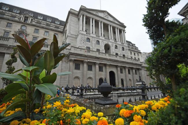 The Bank of England may up its inflation outlook