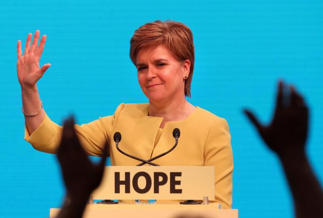 Nicola Sturgeon said the £20 million funding would have a 'disproportionate impact'