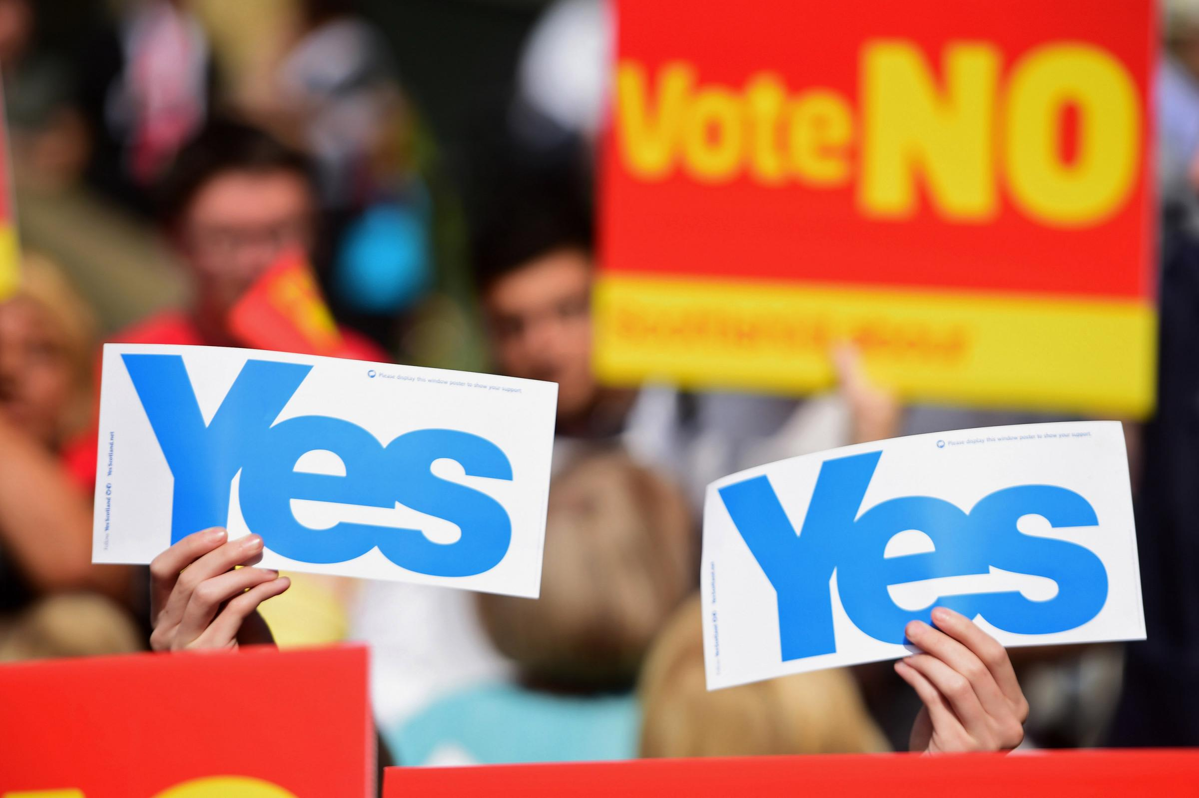 Explode the myth that Scotland is a servant to the English master
