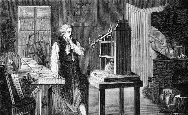 Patent 913 allowed James Watt to develop steam power