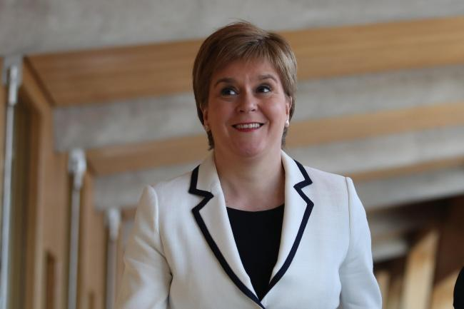 Nicola Sturgeon said she thinks the comments say more about David Cameron than they do about anyone else