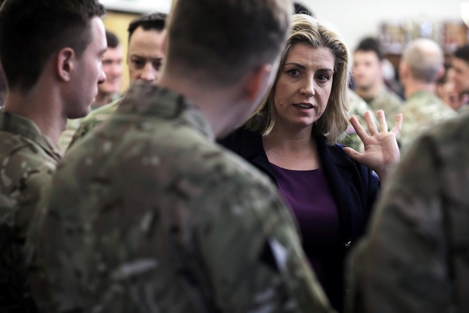 Penny Mordaunt has been appointed UK Defence Secretary