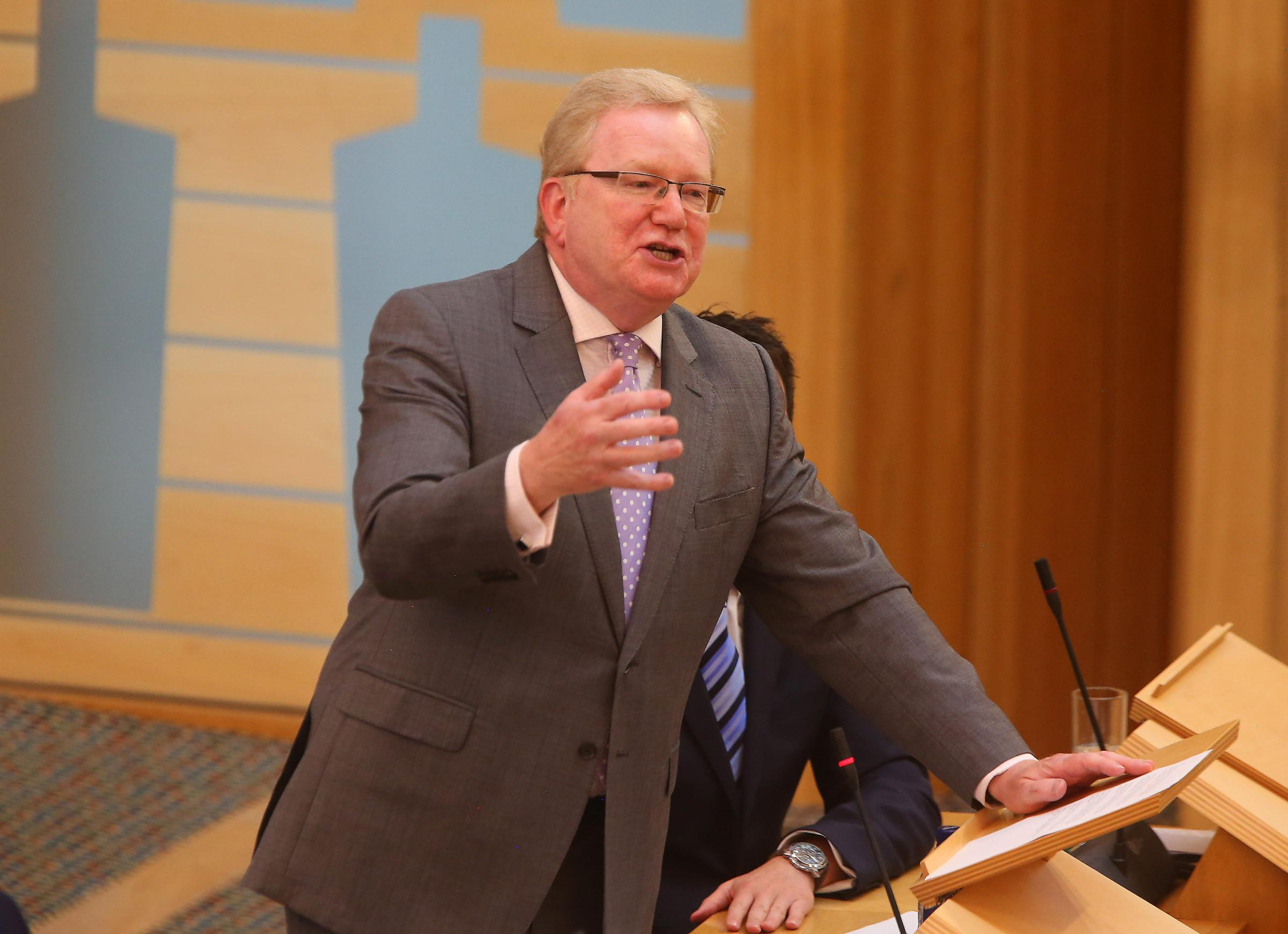 Tory MSP Jackson Carlaw had his final FMQs as Tory interim leader yesterday