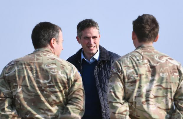 The National: Gavin Williamson was another UK minister not fit for purpose