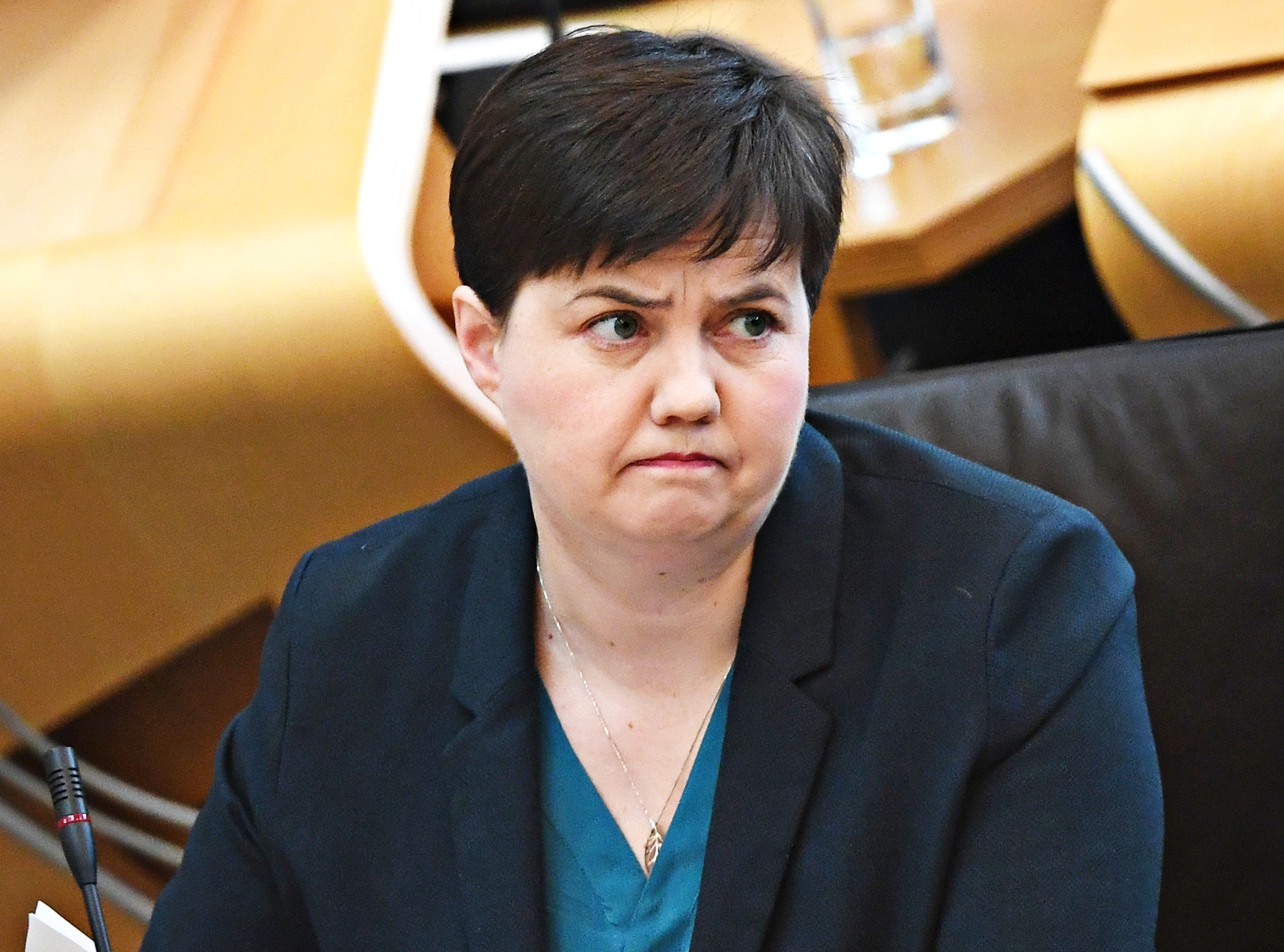 Ruth Davidson hit out at Scottish Government education policy