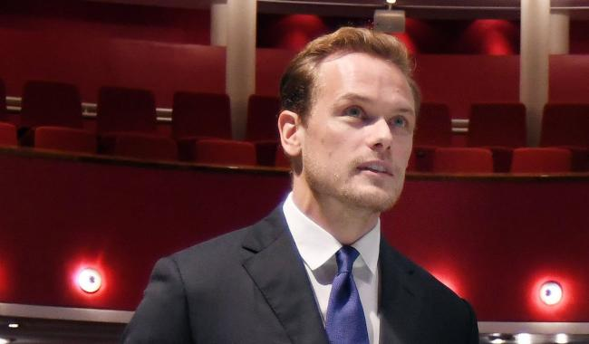 Sam Heughan visited the Royal Conservatoire